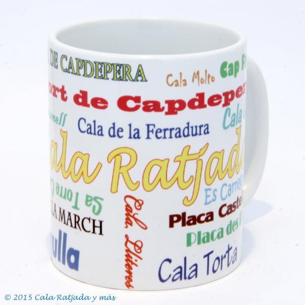 Kaffeebecher mit Motiv Nombres