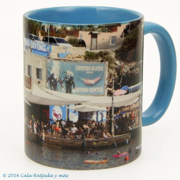 Kaffeebecher Cala Lliteras Sa Cova Mero 2015