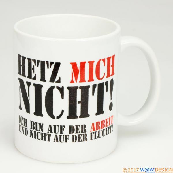Kaffeebecher Het Mich Nicht! at Work - Henkel rechts