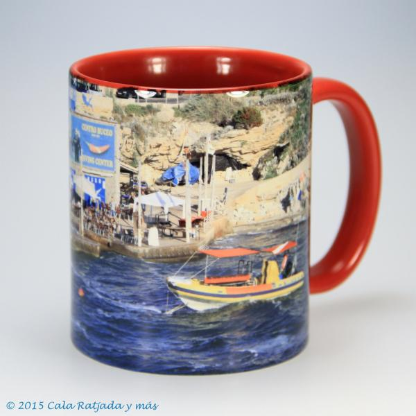 Kaffeebecher mit Motiv Cala Lliteras 2014