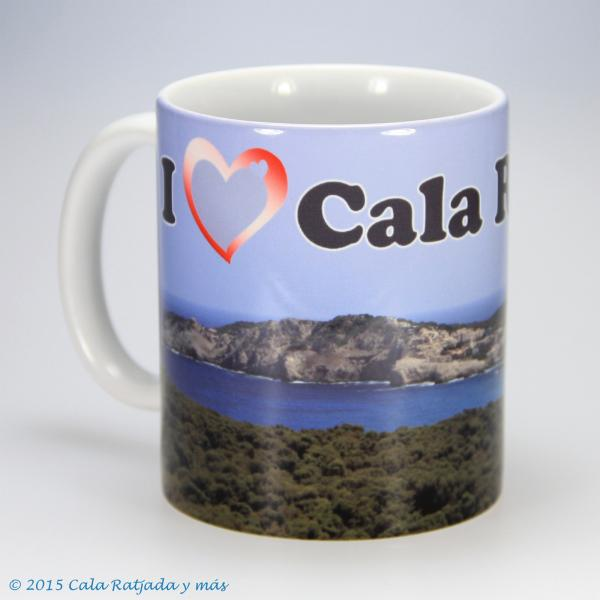 Kaffeebecher I Love Cala Ratjada uno