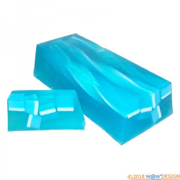 handgemachte Seife, vom Block geschnitten