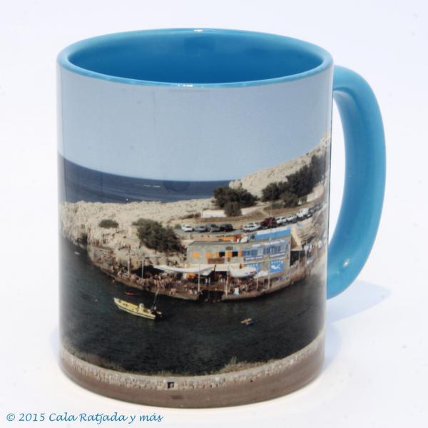Kaffeebecher mit Motiv Cala Lliteras 2012