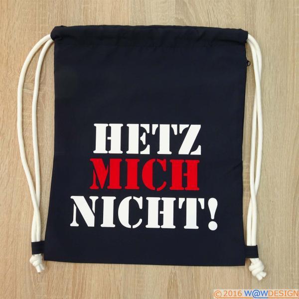 City Backpack Hetz Mich Nicht!