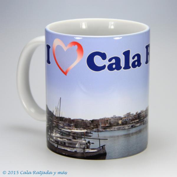 Kaffeebecher I Love Cala Ratjada tres
