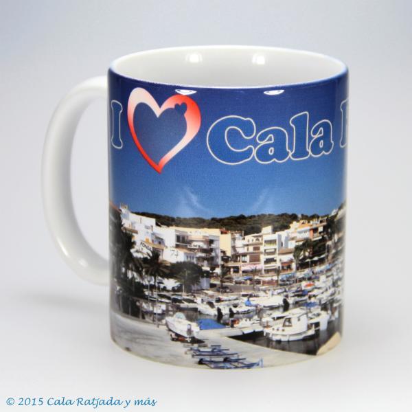 Kaffeebecher I Love Cala Ratjada dos