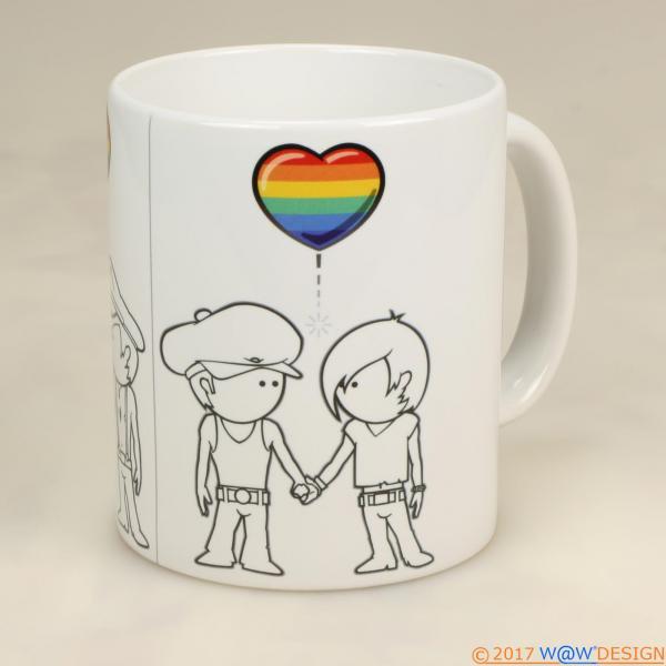 Kaffeebecher GAY BOY
