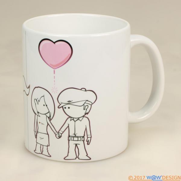 Kaffeebecher BOY&GIRL